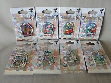 DISNEYLAND DECADES PIN COMPLETE SET 60TH DIAMOND CELEBRATION 1955-2015 (8) PINS