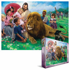 The Lion and the Lamb 1000 piece jigsaw puzzle  EG60000345 - Eurographics