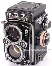 Rolleiflex 2.8E 2,8E K7E THE 1st model w. built-in metering + PLANAR 1:2.8/80mm