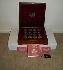 1995/1996 Complete 32 pcs Olympic Games Proof & Mint Set W/ Box & Paperwork RARE