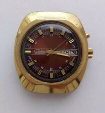 BIG SLAVA AUTOMATIC VINTAGE USSR WATCH SOVIET-RARE 27 JEWELS AU