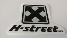 H-STREET SKATEBOARDS ARROW - SKATEBOARD STICKER -7x9cm - Pegatina