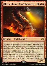Glutschlund-Teufelsbraten FOIL / Embermaw Hellion | EX | Prerelease Promos | GER