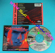 CD SOUNDTRACK Days Of Thunder USA 1990 no mc lp vhs dvd(OST2)