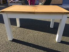 Modern dinning table, EX DISPLAY, solid oak extending table