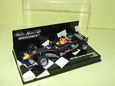 RED BUL COSWORTH RB1 2005 C. KLEIN MINICHAMPS 1:43
