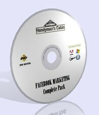 Facebook marketing COMPLETE PACK DVD-Video corsi, guide di esperti e altro!
