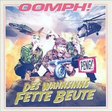 Des Wahnsinns Fette Beute * by Oomph! (CD, 2012, Sony Music Entertainment)