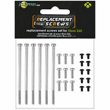 Talismoon Complete Spare Screws Set for Microsoft Xbox 360 Console Parts