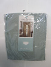 Prelude Interlined Cindy Crawford Pinch Pleat Back Tab Panel Ascot Valance