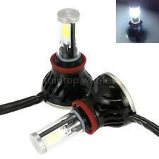 6000k 1 Set H8/H9/H11/H16 COB LED Car Headlight Foglight 80W 8000LM Bulb Kit