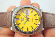 RARE Vintage SEIKO 5 DIVER Automatic Day-Date Japan Made Men's Watch # WORKING #