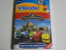 V.READER VTECH CHUGGINGTON BABYSITTER BREWSTER WORDS RHYMING 3-5 YEARS NEW 39h