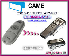 Came TOP432SA compatible remote control transmitter replacement, 433,92Mhz CLONE