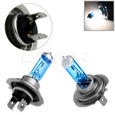 New 2pcs H7 55W 12V 6000K Xenon Gas Halogen Headlight White Light Lamp Bulbs