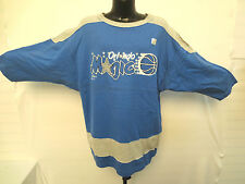 ORLANDO MAGIC VINTAGE SHIRT BY JOSTENS RARE NBA BASKETBALL VTG MCGRADY SHAQ CREW