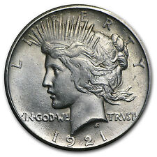 1921 Peace Silver Dollar- High Relief