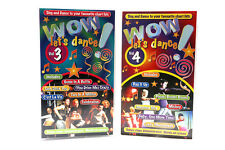 WOW - LET'S DANCE 4 & 3   DANCE ROUTINES - REACH, STRONGER VHS PAL (UK) VIDEO