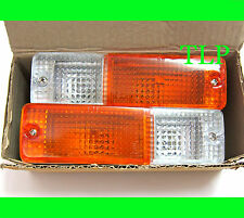 FRONT BUMPER LIGHT LAMP ORIGINAL COLOR FOR NISSAN 720,DATSUN 720 1980-1986 81 82