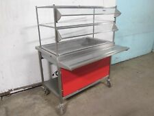 """ATLAS METAL"" H.D. COMMERCIAL REFRIGERATED CAFETERIA SELF-SERVE DESSERT TABLE"