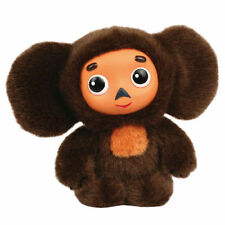 CHEBURASHKA Plush Talking Toy -17 cm -2 songs & 9 phrases -new