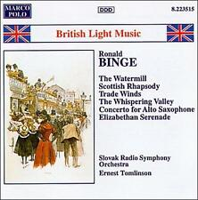 Binge: British Light Music, New Music