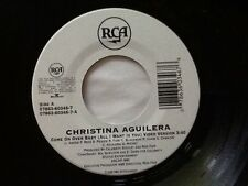 RARE LTD EDITION . CHRISTINA AGUILERA . COME ON OVER BABY ( ALL I WANT IS YOU )