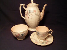 Mint HTF Aynsley Wayside pattern Demitasse Set