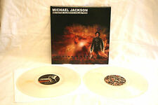 "MICHAEL JACKSON REVISITED CLASSICS BILLIE JEAN THRILLER BAD 2X12"""" CLEAR VINYLS"