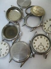 Bulova Military Wrist Watch Cases With Dials