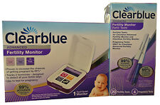 Clearblue Advanced Fertility Ovulation Monitor +20 Fertility &4 Pregnancy Sticks