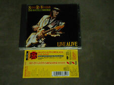 Stevie Ray Vaughan And Double Trouble Live Alive Japan CD