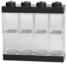 Lego Small Minifigure Display Case - Black Top, NEW