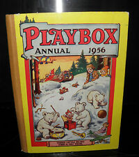 The Playbox Annual-  HB, Vintage collectible- 1956