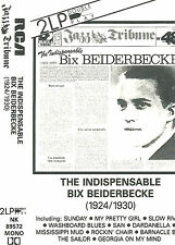 BIX BEIDERBECKE INDISPENSABLE1924-30 CASSETTE DOUBLE PLAY ALBUM JAZZ TRIBUNE 48
