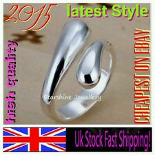 10 X 925 sterling silver ring thumb WHOLESALE JOB LOT anniversary women gift bag