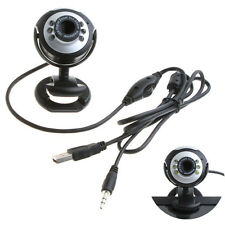 Adorable HD Webcam Camera Web Cam MIC USB 2.0 50.0M 6 LED PC Camera FINE