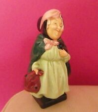 ROYAL DOULTON DICKENS FIGURINE - SAIREY GAMP M46 MINIATURE - BONE CHINA - MINT !