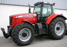 MASSEY FERGUSON TRACTORS SHOP SERVICE MANUAL 6400 MF6445 MF6455 MF6460 MF6465 CD
