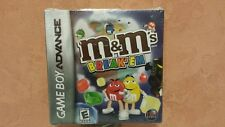 New M&M's Break'Em Game For Nintendo Game Boy Advance DSI Games