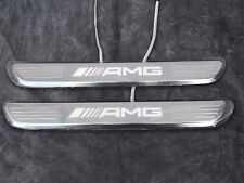 Mercedes-Benz AMG Door Sill Plates C-Class W205 and the front doors E-Class W213