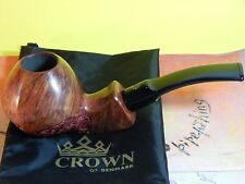 Unsmoked Poul Winslow Crown Viking Danish smoking tobacco Pipe-New old stock