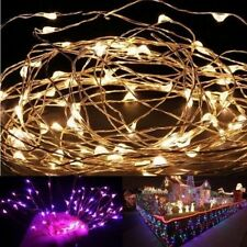 20 LED String Fairy Christmas Wedding Decorations Lights 2m & Battery Operated