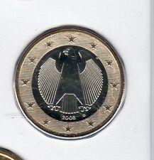 Allemagne 2008 1 euro D Munich FDC provenant coffret 55600 exemplaires