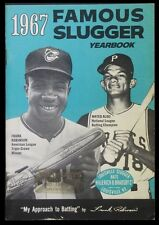 Famous Slugger Yearbook 1967 - Frank Robinson & Matty Alou on the Cover