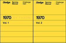 1970 Dodge Dart and Challenger Repair Shop Manual 70 Swinger RT 340 R T