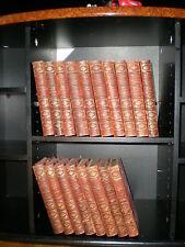 DAUDET (Alphonse). OEUVRES COMPLETES . PARIS , HOUSSIAUX ,1909 ; 18 vol.