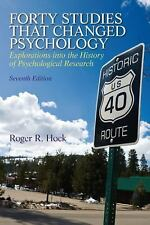 Forty Studies that Changed Psychology 7th Edition SOFTCOVER