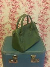 J.Crew small handbag Ladylike Green contrast Stitching Handle Bag