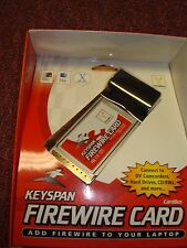 KEYSPAN FIREWIRE CARD FOR LAPTOP